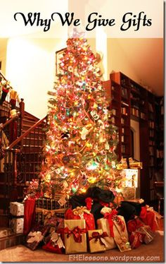 October 16, 2013 by FHElessons  Have you ever felt that Christmas has become too commercialized, that you are focusing too much on gifts, th...