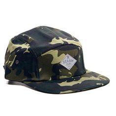 Reason Clothing - Camo Camp Cap