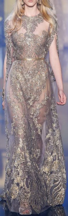 Elie Saab Fall 2015 Couture
