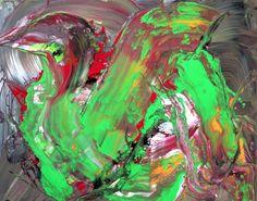 8753   Irena Urboniene-Acrylic on canvas 100×80 cm www.irena-urbonie...