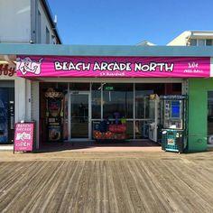 Beach Arcade on the boardwalk