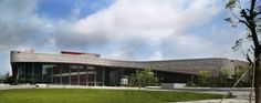 Nansan Cultural and Sport Center in Shenzhen China by ZDA Studio Hungary