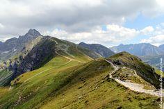 Widok z Beskidu w kierunku Świnicy, Tatrzański Park Narodowy / Tatra National…