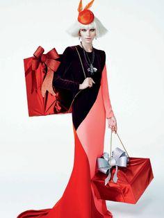 #AlineWeber by #ZeeNunes for #VogueBrazil December 2013