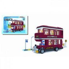 Ausini Blocks City Double Decker Bus 282pcs