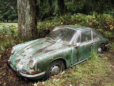 1967 Porsche 912 ban find