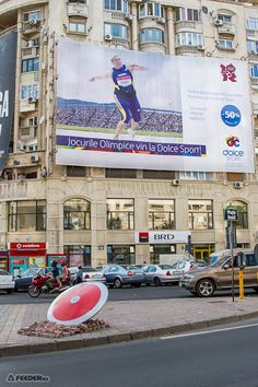 Outdoor ad for the Olympics - Dolce Sport  http://www.arcreactions.com/envelopes/