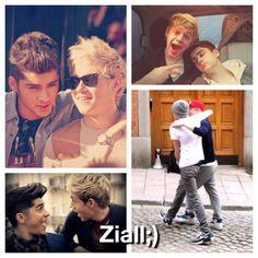 1D Bromances! Zayn and Niall.