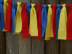 Superhero Birthday Circus Banner Scrappy Fabric Rag Tie Banner Garland Party Photo Prop Smash Cake First RTS Superman Party, Superhero Birthday Party, Circus Birthday, First Birthday Parties, Boy Birthday, First Birthdays, Birthday Board, Birthday Cakes, Wonder Woman Party