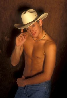 Every Glorious Photo From Jensen Ackles's 1999 Cowboy Shoot. There are no words.