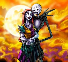 CC: Jack and Sally by *MistyTang
