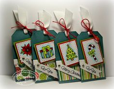 Holiday Tags-There She Goes