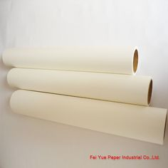 Roll Sublimation Paper For Heat Transfer  Can be used for all kinds of materials, such as Ceramic, Mug, Textile,Umbrella, Flag, lether, Wood, Glass, Iron, Marble. Etc.