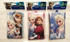 3 pc LOT Disney Frozen Wallet Pouch Lanyard Elsa Anna Olaf Phone Case ID Holder  #Disney