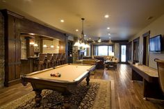 High End and Luxurious Billiard Room