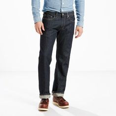 Levi's 559 Relaxed Straight Jeans (Big & Tall) - Men's 48x34