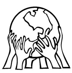 Supporting Our Planet On Earth Day Coloring Page