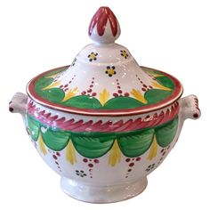 Early 19th Century French Faience Tureen