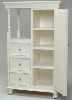 Newport Cottages Savannah Wardrobe Chest @Layla Grayce