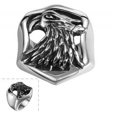 R105-8 Stylish Wholesale Various Styles 316L Stainless Steel Punk Ring