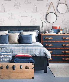 10 Navy Blue Bedroom Ideas 2021 (Get Playful)