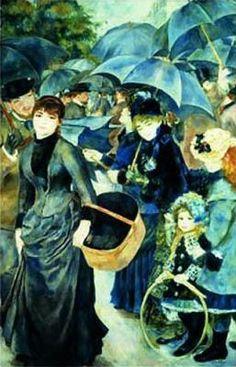 Pierre-Auguste Renoir - The Umbrellas. Renoir was a French artist who was a…