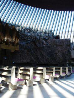 Temppeliaukio Church, Helsinki