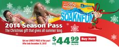 2014 passes on sale now for holiday gifts! Get them early and get them on sale.  Sale ends 12/31/13
