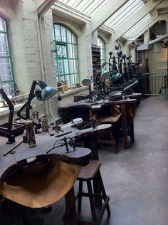 Museum of the jewellery quarter in Birmingham. This is AMAZING... dreamy for a jeweler! <3 uploaded by Prisha Brown....I need to go to this!!!!