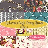 Autumn's Sigh Emmy Grace Fat Quarter Bundle - Bari J for Art Gallery Fabrics