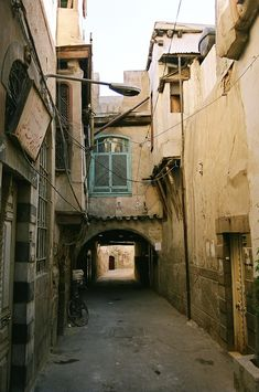 Alleyway in Old Damascus_ Syria