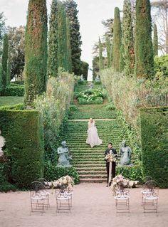 Wedding Inspiration by Olga Siyanko at a Spanish Villa