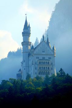 Neuschwanstein Castle, Bavaria, Germany - the inspiration for Sleeping Beauty's castle at Disneyworld