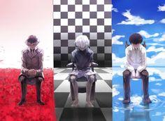 The evolution of Kaneki Ken / Haise Sasaki Tokyo Ghoul Anime Yugioh, Manga Anime, Anime Body, Anime Pokemon, Anime Quotes Tumblr, Tokyo Ghoul Quotes, Anime Plus, Ken Kaneki Tokyo Ghoul, Sasaki Tokyo Ghoul