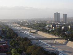 Bridges over the tijuana river Mexico