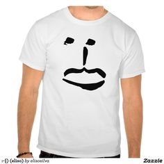 :-{) (eliso) camiseta