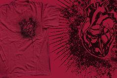 T-shirt - silkscreen on a gildan ultra shirt