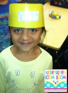 3-D Shape Fun - headbands game