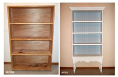 Book shelf into china cabinet!