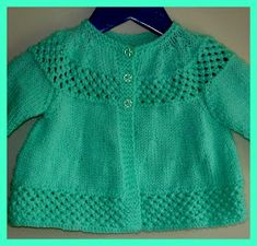 I love vintage patterns ~ I have a little collection ~ and I add more when I find them. As long as they are in reasonable condition, and can. Baby Cardigan Knitting Pattern Free, Baby Boy Knitting Patterns, Knitting For Kids, Knitting Designs, Knit Patterns, Vintage Patterns, Free Knitting, Knit Baby Sweaters, Knitted Baby Clothes