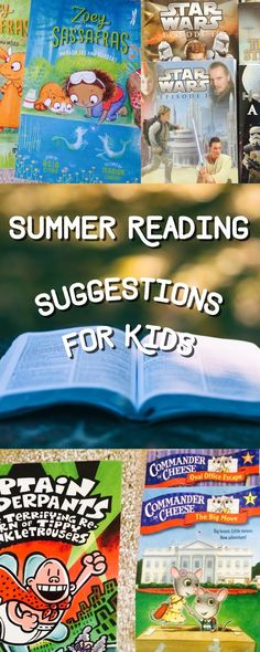The Jersey Momma: Summer Reading Lists for Kids: Fun Suggestions from The Jersey Momma