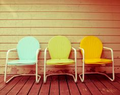 Summertime Chairs by:-Squintphotography