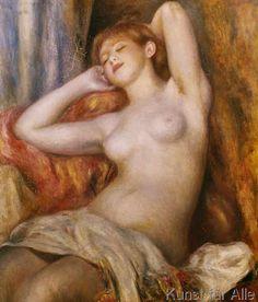 Pierre Auguste Renoir - La Dormeuse