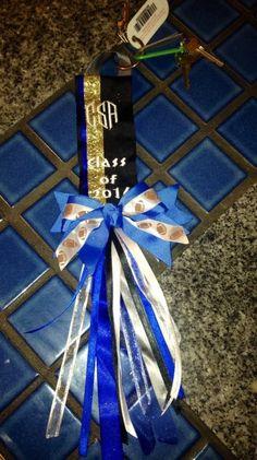 Personalized Ribbon Keychain by ErinAlyssas on Etsy, $16.50
