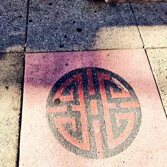 Symbol on the walk to #ISTE2015 tday made w/Morphi's new PhotoAlbum tool. #3dprinting
