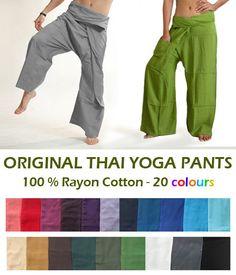 The Original Thai Fisherman Pants / Thai Yoga Pants. $7.98, via Etsy.
