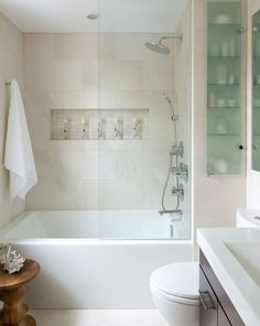 Small Bathroom Tub Shower Combo Remodeling Ideas For My With Regard To Tile Prepare. Bathroom Tub Shower, Bathroom Ideas, Shower Ideas, Bathtub Ideas, Shower Door, Bathroom Storage, Simple Bathroom, Budget Bathroom, Bathroom Cabinets