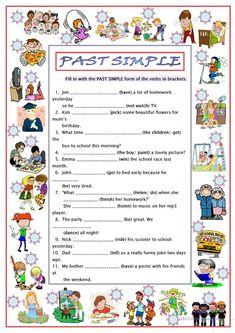 Past Simple worksheet - Free ESL printable worksheets made by teachers