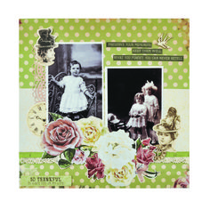 Kaisercraft - Mademoiselle Collection Heritage Scrapbooking, Scrapbooking Layouts, Vintage Scrapbook, Scrapbook Pages, Photo Layouts, General Crafts, Craft Items, Embellishments, Thankful