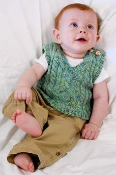 Ravelry: Pembroke Vest pattern by Kirsten Kapur Knitting For Kids, Knitting Projects, Baby Knitting, Crochet Baby, Knit Crochet, Knitted Baby, Craft Projects, Knit Vest Pattern, Knitting Patterns